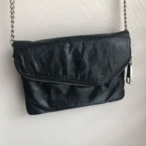 HOBO Black Clutch/Crossbody/Wristlet